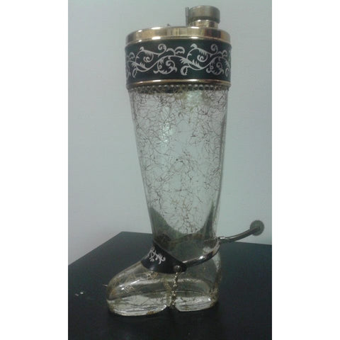 Vintage Boot Cocktail Shaker