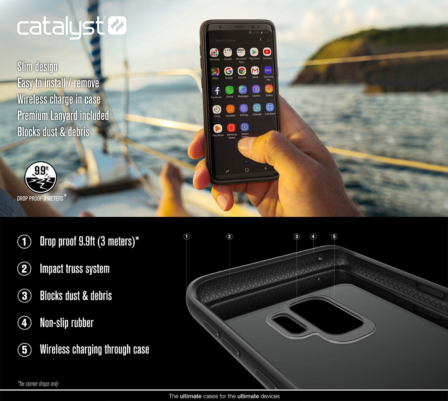 Buy Catalyst® Impact Protection Case for Samsung Galaxy S9