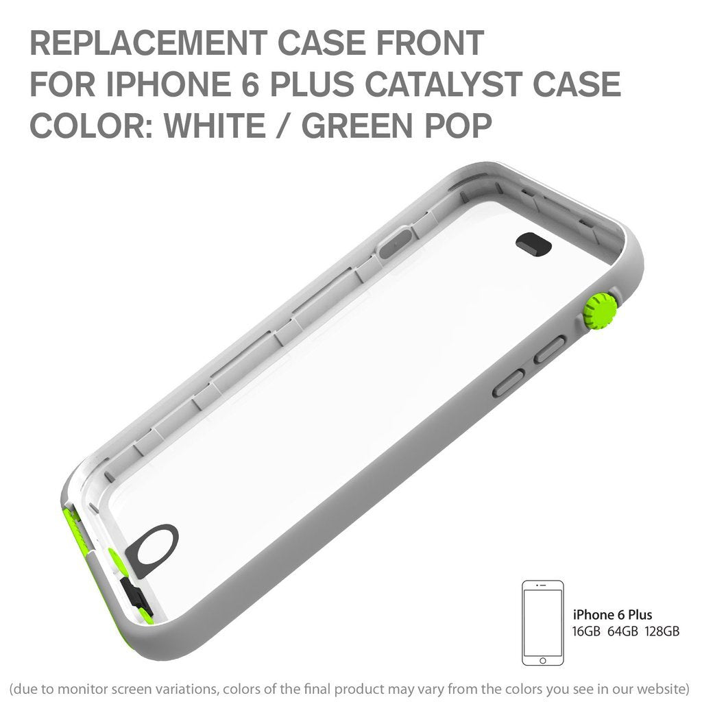 ReplacementCase Front for Waterproof Case for iPhone 6 Plus