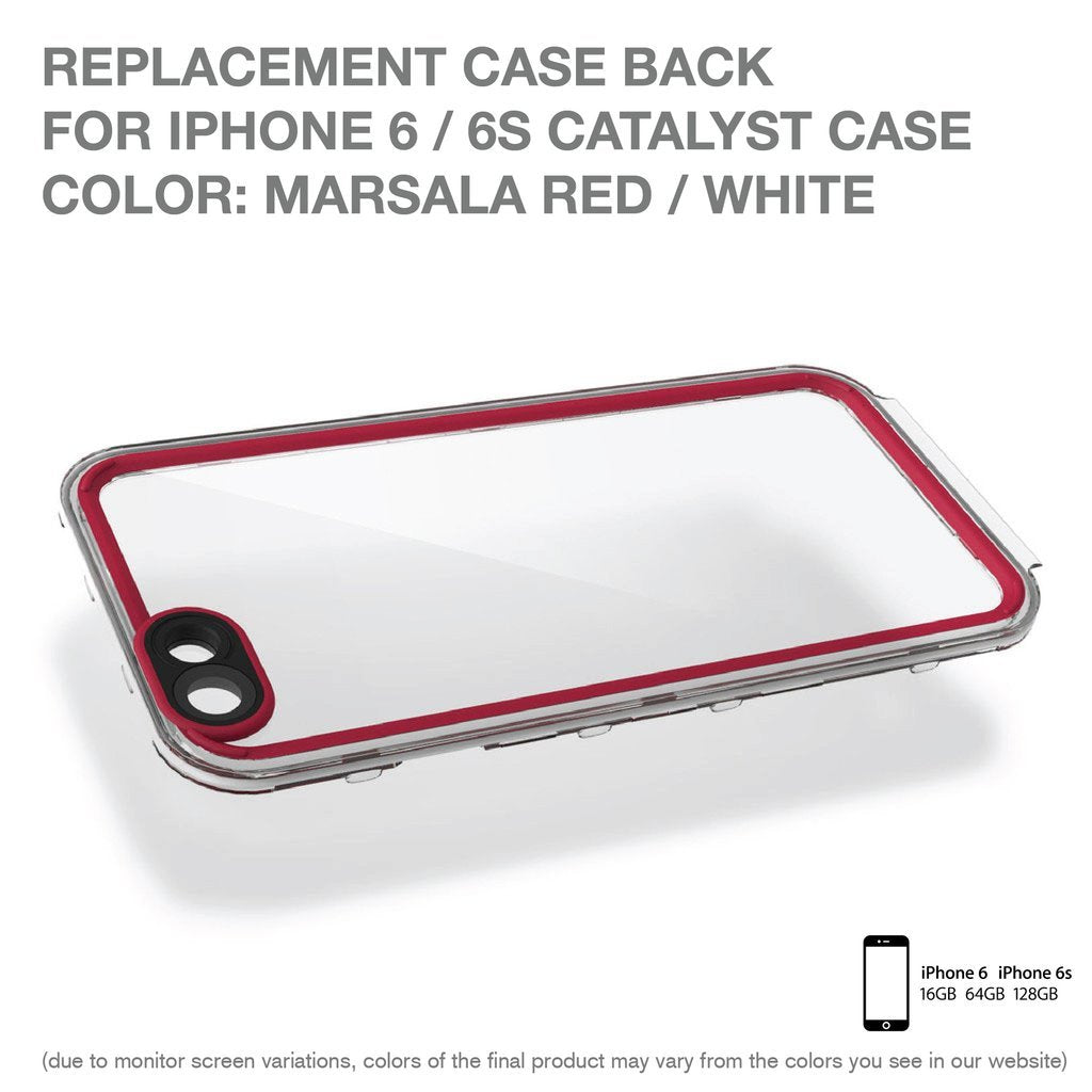 Replacement Case Back for Waterproof Case for iPhone 6/ 6s