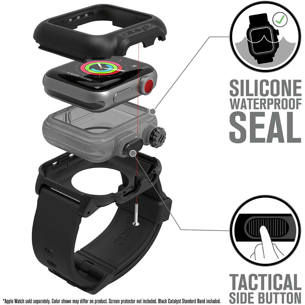 Waterproof Case for 38mm Apple Watch Series 3