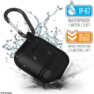 CATAPLAPDBLK | Special Edition Waterproof Case for AirPods