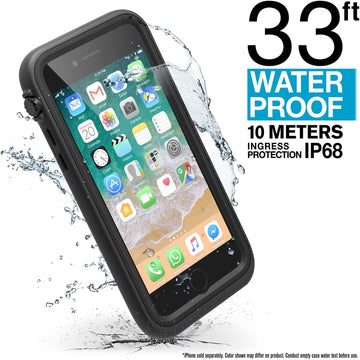 CATIPHO8+BLK | Waterproof Case for iPhone 8 Plus & 7 Plus