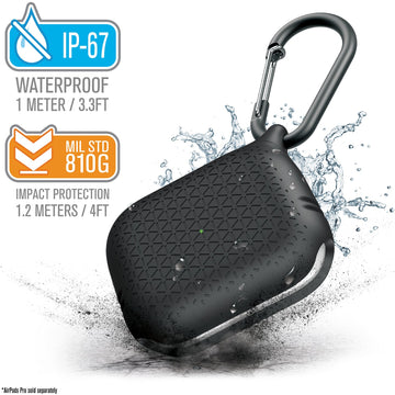 CATAPDPROTEXBLK | Premium Waterproof Case for AirPods Pro