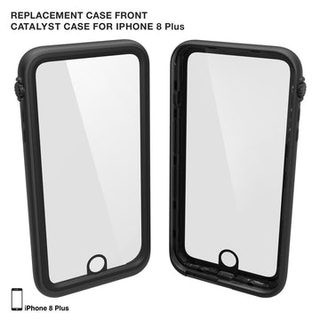 Replacement Case Front for Waterproof Case for iPhone 8 Plus