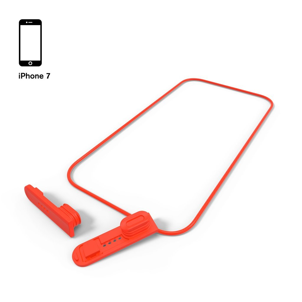 2 Plugs + 1 O-Ring for Waterproof Case for iPhone 7 Plus/8 Plus