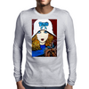 1920S ART DECO WITH YORKIE Mens Long Sleeve T-Shirt