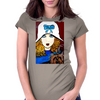 1920S ART DECO WITH YORKIE Womens Fitted T-Shirt