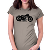 1929 OHC Triumph Motorcycle Womens Fitted T-Shirt