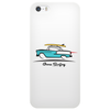 1955 Chevy Hardtop Coupe Gone Surfing Phone Case