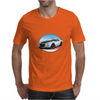 1970s White Chevy Camaro Z28 SS WB Mens T-Shirt