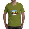 1970s Yellow Chevy Camaro Z28 SS YB Mens T-Shirt