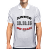 "20TH Anniversary of the Million Man March ""JUSTICE OR ELSE"" Mens Polo"