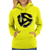 45 rpm Record Adaptor Shadow Womens Hoodie