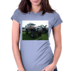 4x4 Truck Festival Car Womens Fitted T-Shirt