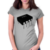 741 Op Amp Chip (Rendered) Womens Fitted T-Shirt