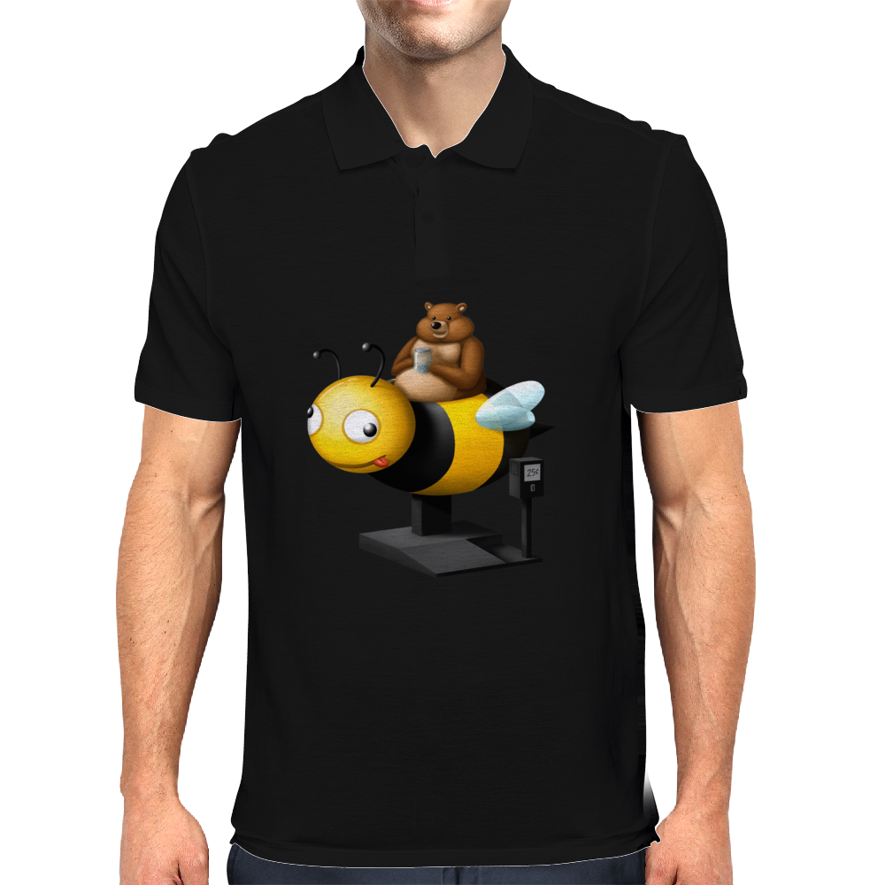 A Bear in its Free Time Mens Polo