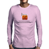 A person should never start spooning because spooning can lead to forking  Mens Long Sleeve T-Shirt