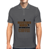 A REGISTERED NURSE'S  DAY BEGINS AFTER COFFEE Mens Polo