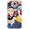 ABSTRACT CLOWNS IN SHOCK Phone Case