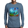 Abstract Love Mens Long Sleeve T-Shirt