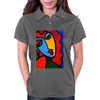 ABSTRACT  MISS TULIP Womens Polo