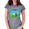 Adventure Time: BMO Womens Fitted T-Shirt