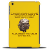 Alexander the Great Tablet (vertical)