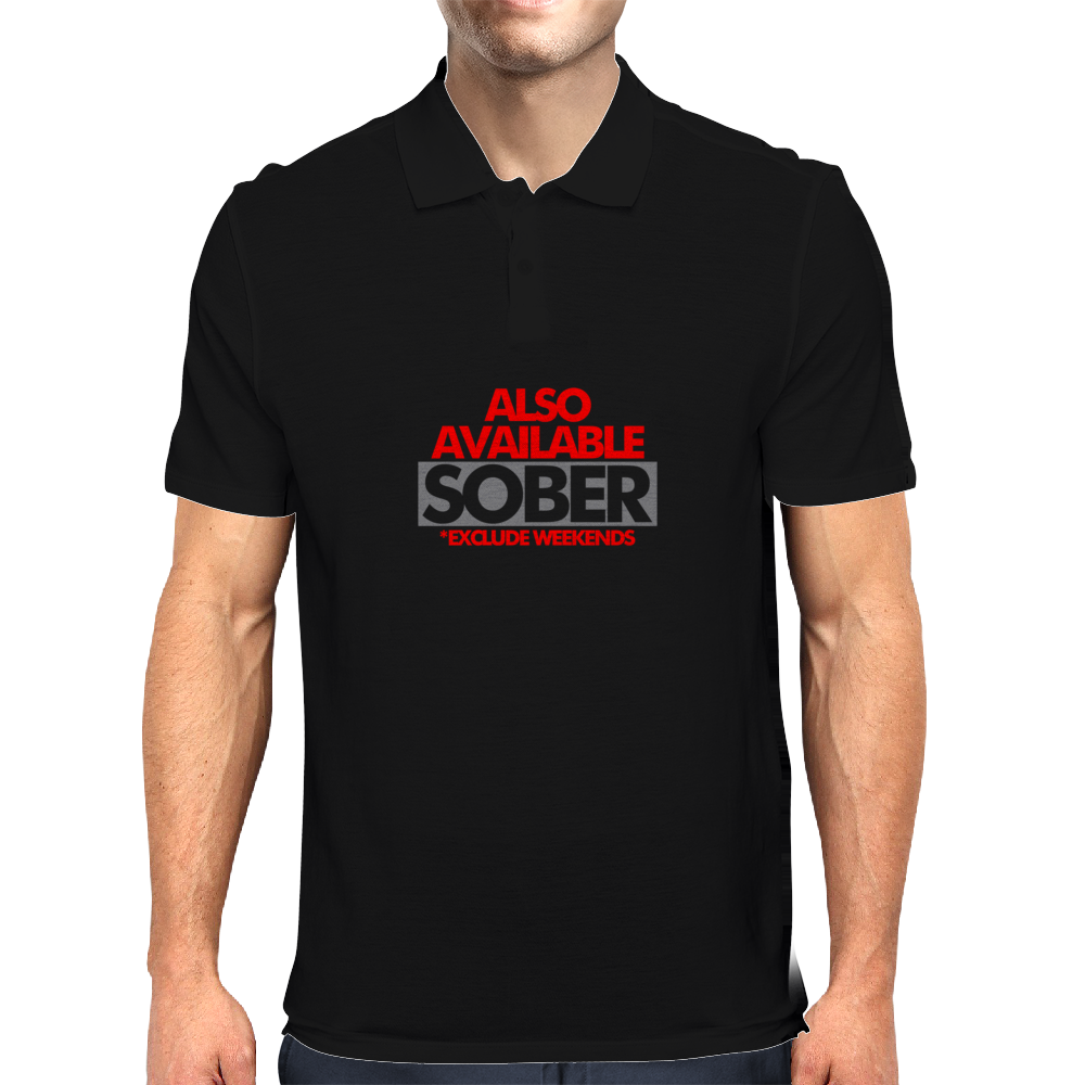 Also Available Sober Mens Polo