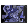 Amazing Blue Elephant with Raised Trunk Abstract Art Tablet (horizontal)