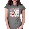 American Music Written In Blood Womens Fitted T-Shirt