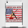 Americana Music- Written With Blood Tablet (vertical)