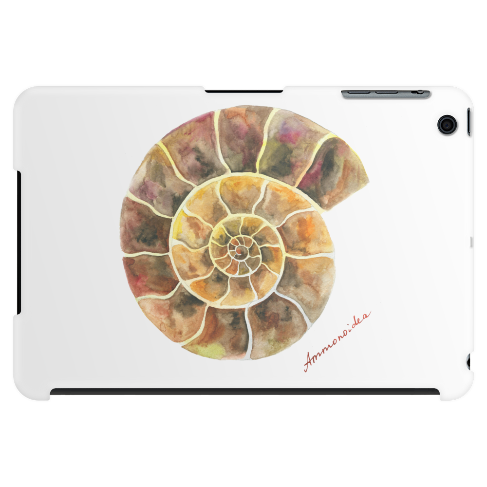 Ammonite, a Prehistoric Snail Tablet (horizontal)