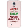 An Apple A Day Keeps The Doctor Away Phone Case