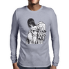 Angel Pregnant Mens Long Sleeve T-Shirt