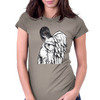Angel Pregnant Womens Fitted T-Shirt