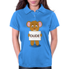 angry bear Womens Polo