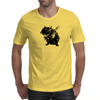 Angry street art mouse / hamster (baseball edit) Mens T-Shirt