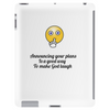 Announcing your plans Is a good way  To make God laugh Tablet (vertical)