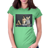 Assembly required Womens Fitted T-Shirt