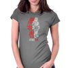 Atomic Man Womens Fitted T-Shirt