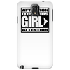 "ATTENTION "" I LOVE THIS GIRL"" COUPLE Phone Case"