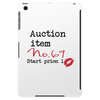 Auction item Tablet (vertical)