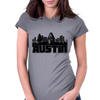 Austin Skyline Womens Fitted T-Shirt