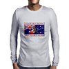 Australian Country Music, Written With Blood Mens Long Sleeve T-Shirt