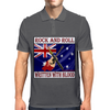 Australian Rock and Roll-Written With Blood Mens Polo
