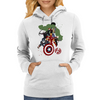 Avengers Age Of Ultron group shot Womens Hoodie