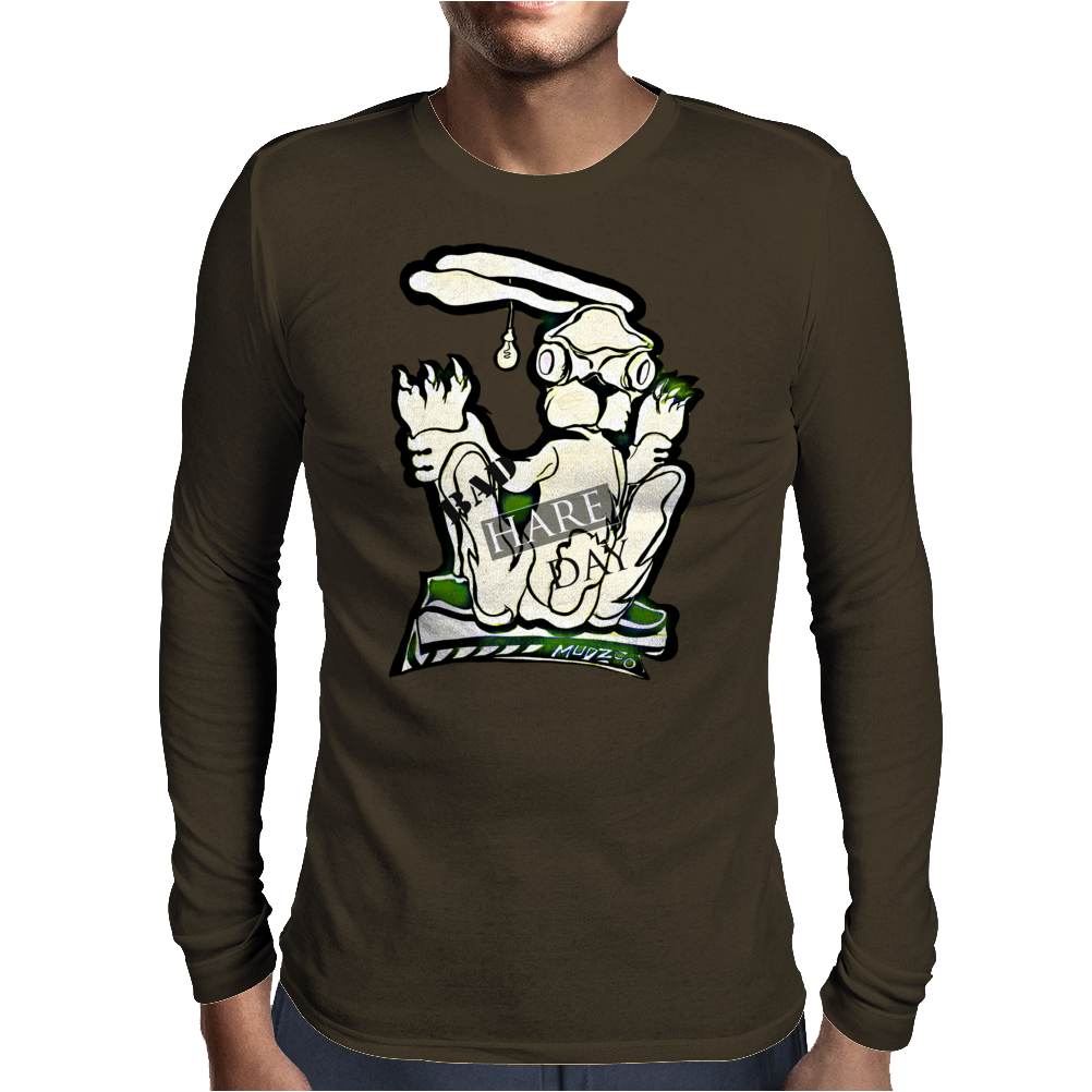 bad hare day Mens Long Sleeve T-Shirt