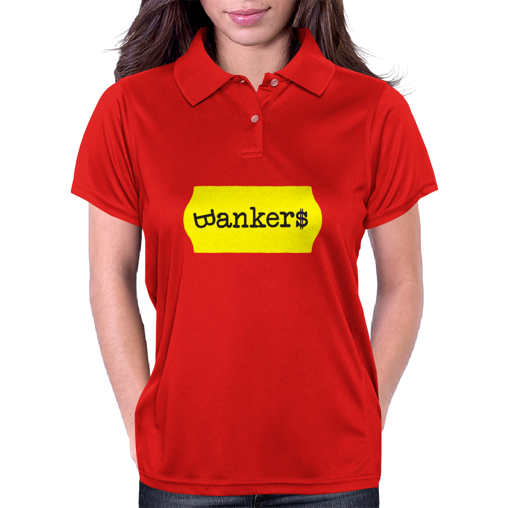 BANKER$ Womens Polo