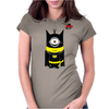 Batminion Womens Fitted T-Shirt